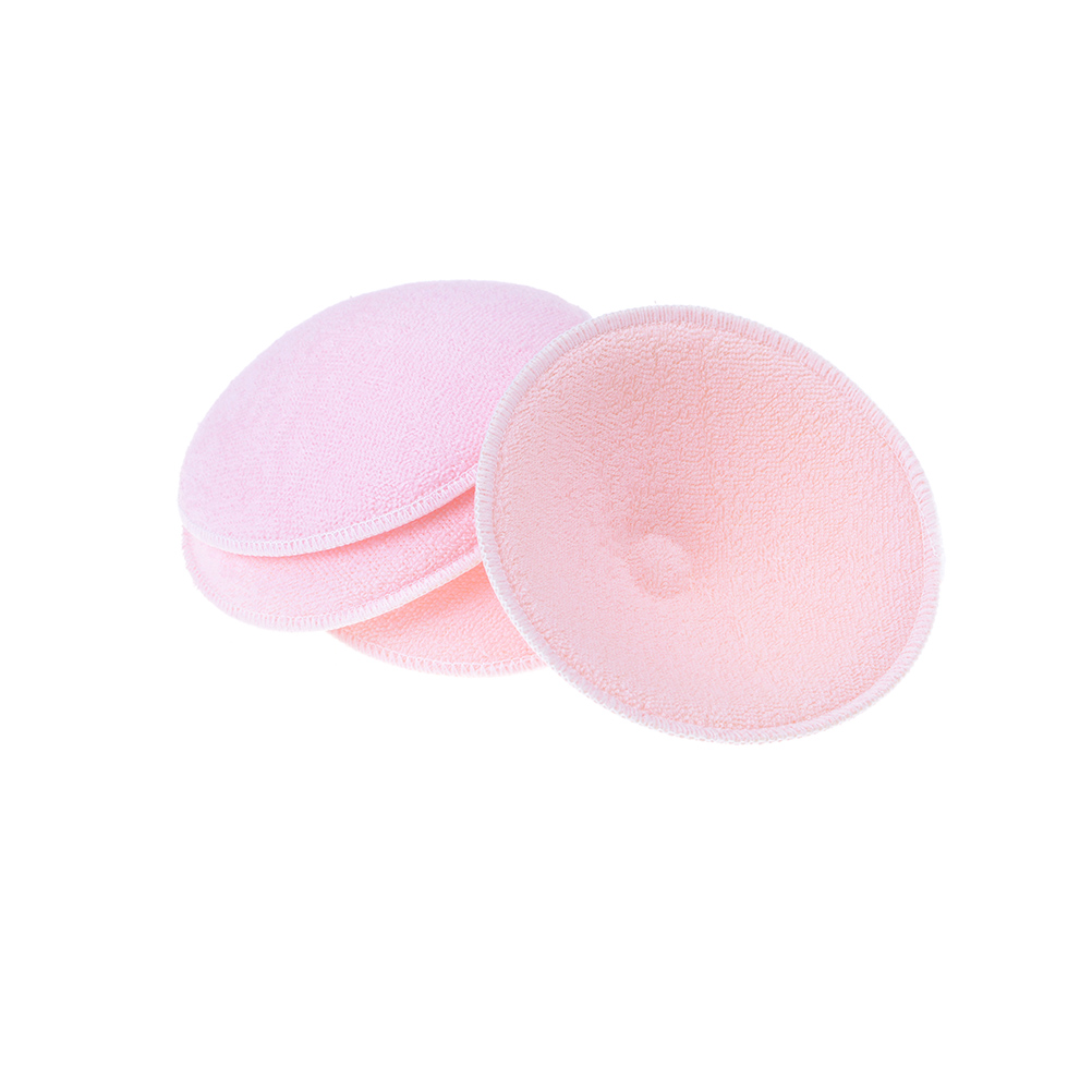2Pcs Breast Feeding Pads Absorbent For Breast Reusable Washable Chest Inserts For Breastfeeding Nursing Breast Pads Nursing Pad