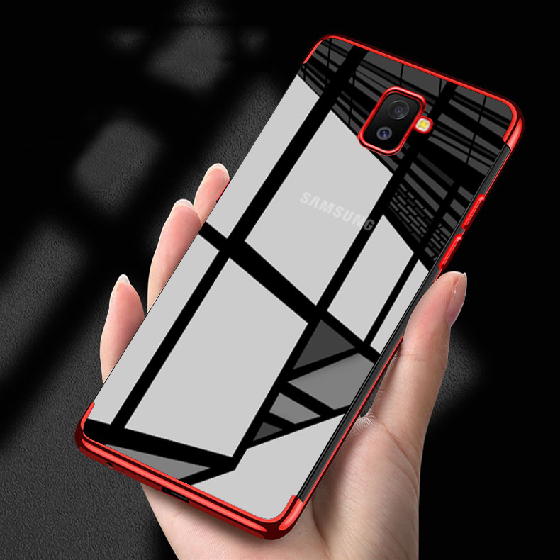 9f75ed3f375 Phone Case For Samsung Galaxy J6 Cases Silicone Plated Fundas For Samsung  J4 Plus 2018 J2 Prime J7 2017 J5 2016 J8 J600F Covers