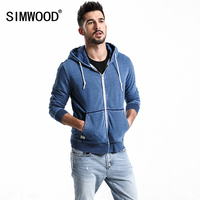 SIMWOOD 2018 New Hoodies Men Fashion Hip Hop Sweatshirts Male Casual Hoodies Plus Size Brand Clothing