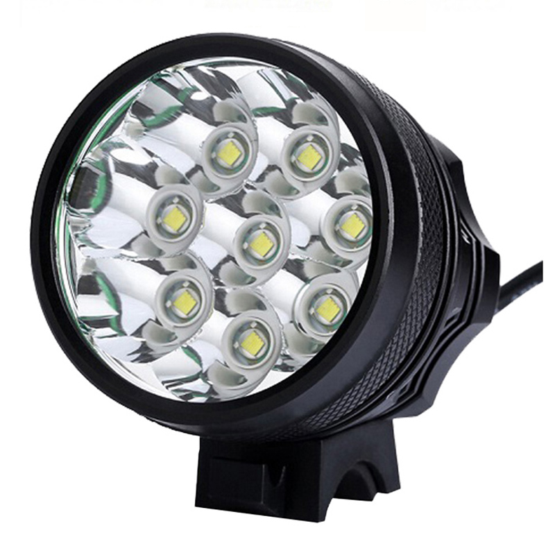 led bicycle lights bicycle lights bycicle light 8 led 9800lm rechargeable 593