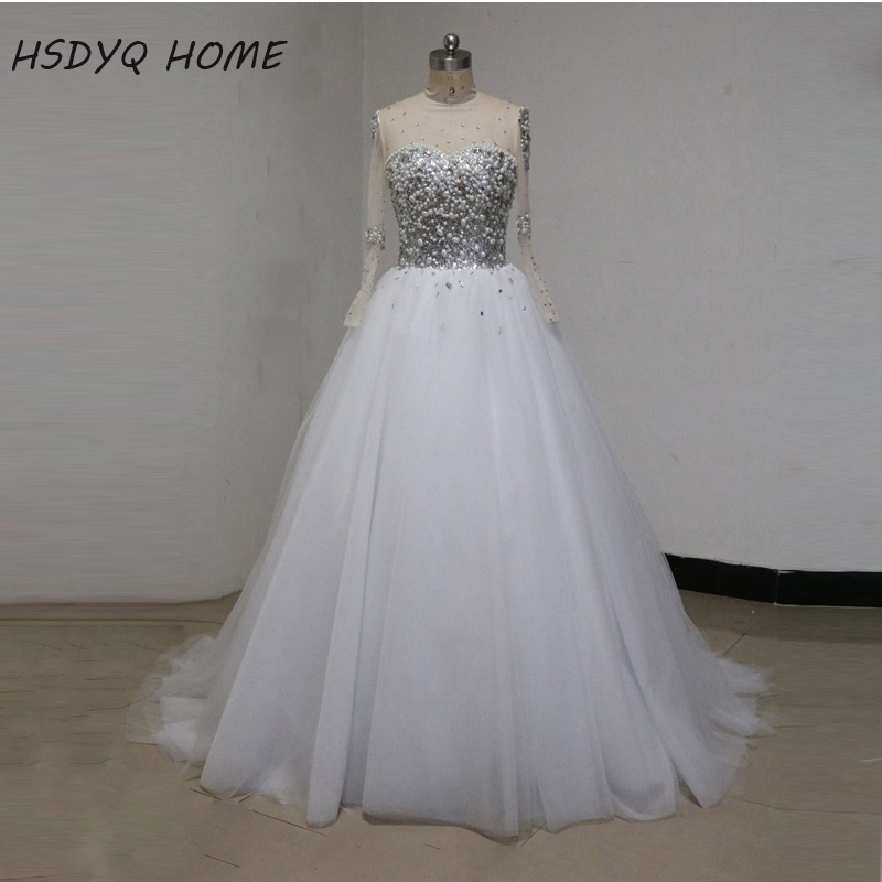 Buy saudi long sleeves ball gown wedding for White african wedding dress