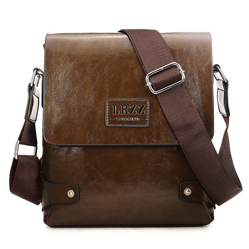ФОТО Fashion Design Brand Men Business PU Leather Package Shoulder Casual Male Messenger Briefcase Crossbody Bag 2016 New