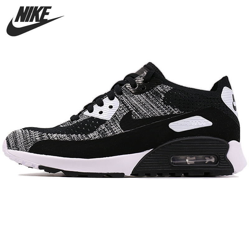 Original New Arrival 2017 NIKE AIR MAX 90 ULTRA 2.0 FLYKNIT Women's   Running Shoes Sneakers nike original 2017 summer new arrival air max 90 women s running shoes sneakers