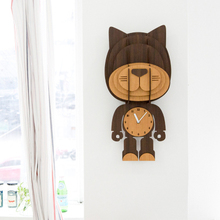 DIY wall modern fashion personality mute child watch decoration wall clock