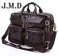 Многофункциональный настоящее Натуральная кожа мужчины сумка почтальона сумочки бизнес мужчины сумки мужской портфель плеча ноутбук мужская сумка