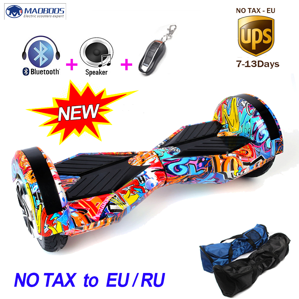 8 Inch Electric Scooter Hoverboard Self Balance Electric Hoverboard Giroskuter Hoverboard Electric Scooter Two Wheels Skateboard 40km h 4 wheel electric skateboard dual motor remote wireless bluetooth control scooter hoverboard longboard