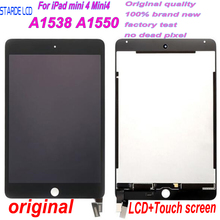 New 7.9'' For iPad mini 4 Mini4 A1538 A1550 LCD Display Touch Screen Digitizer Assembly Sensor Panel with Free Tools new brand tested for ipad mini 4 lcd a1538 a1550 display screen with touch screen digitizer assembly 1pcs 7 9 inch replacement