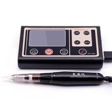 Горячая Aimoosi Smart touch бесплатный инструмент цифровой Интеллектуальный полуперманентный Макияж для бровей Тату машина