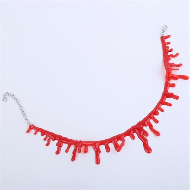 Кровавое ожерелье для Хэллоуина 2