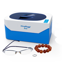 Home Ultrasonic Cleaner for Glasses Watch ,Necklace Earrings Bracelets Dentures Circuit Board Sonic Machine 400ML
