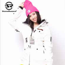 Women Floral colorful snow Ski jacket outdoor sport Jacket(China)