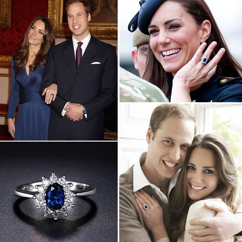 Women's Princess Kate Style Ring Jewelry Rings Women Jewelry
