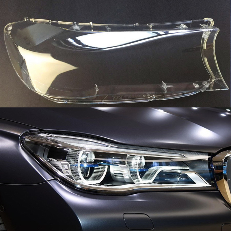 for BMW 7 Series G11 G12 730 740 760 2017 2018 Front headlights headlights glass mask