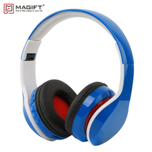 Magift11 Wireless Bluetooth font b Headphone b font BT 4 1 Support TF Card FM Radio