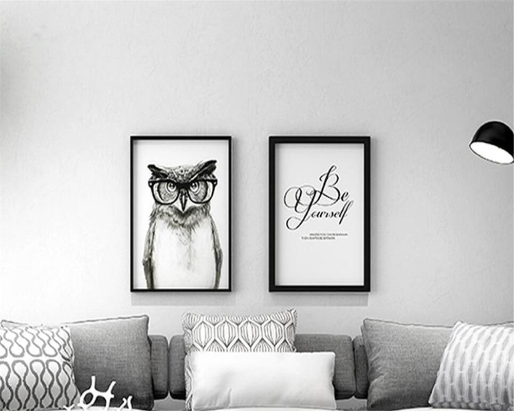 2 Couleurs Papier Peint Dans Une Chambre €26.03 36% de réduction|beibehang moderne couleur unie non tissé papier  peint gris clair solide couleur salon vêtements magasin chambre 3d papier