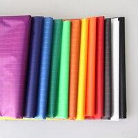 1.45 M W X 2 M Poliestere Tessuto Impermeabile Ultra Sottile Protezione UV Ripstop Tessuto Per Tenda Aquilone Che Fanno