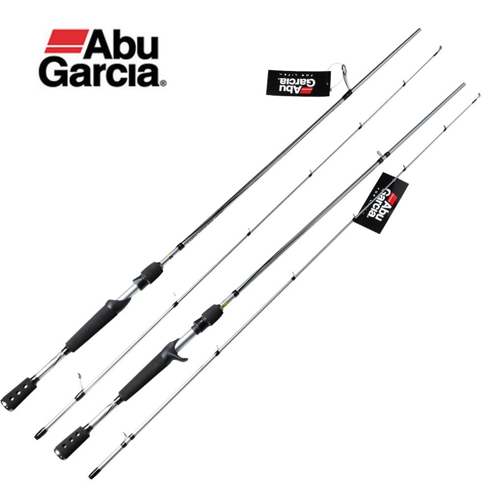 Fishing-Rod Spinning Vengeance-Ii Baitcasting Abu Garcia Original Carbon-Lure 6'6-24T