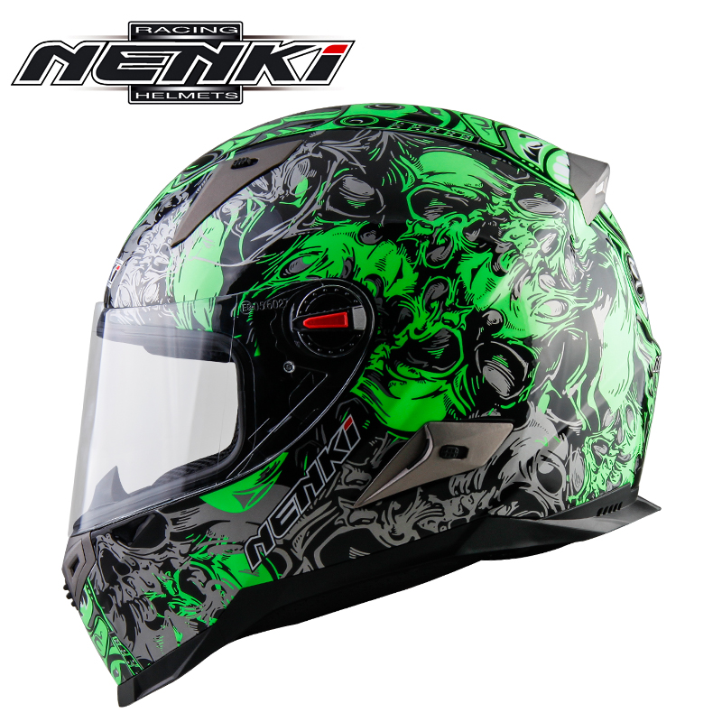 NENKI Motorcycle Racing Helmet Motorbike Full Face Helmet ECE Certification Moto Helmet riding speed game Capacete free shipping motorcycle helmet full helmet arai helmet motorcycle full face helmet ece blue capacete