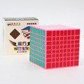 2016 El Más Nuevo Shengshou Cubo 8x8x8 Rosa Rompecabezas Velocidad Cubo Grande De Plástico Cubo Mágico Puzzle Cubos Juguetes para Niños Y Adultos