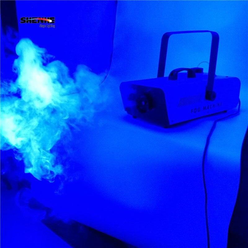 Wire/Remote 1500W Fog Machine Control Professional Stage DJ 3L Smoke Machine DJ/Party/Disco/Stage Fogger dj control