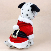 Christmas Dog Clothes Santa Suit