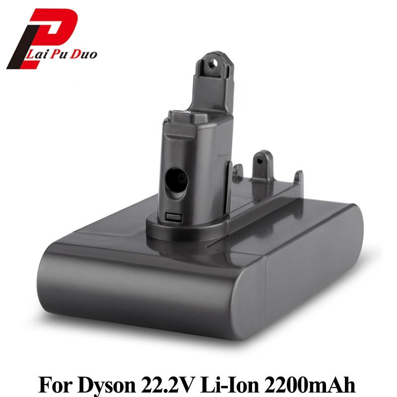 все цены на 22.2V 2200mAh Li-ion Replacement Battery For Dyson Vacuum Cleaner DC31 DC34 DC35 DC44 MK2 DC45 Type B Series онлайн