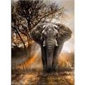 100% Full 5D Diy Daimond Painting Animal 3D Diamond Painting Full Round Rhinestones Diamant Painting Embroidery Animal Elephant