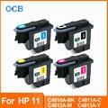 Для hp 11 печатающая головка C4810A C4811A C4812A C4813A Печатающая головка для hp 11 70 100 110 111 120 500 510 500PS 800 815 820 850 принтер