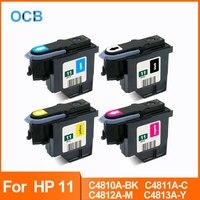 ل HP 11 رأس الطباعة C4810A C4811A C4812A C4813A طباعة رئيس ل HP 11 70 100 110 111 120 500 510 500 PS 800 815 820 850 طابعة