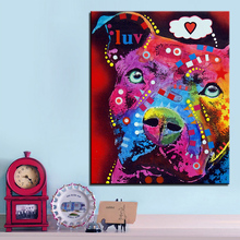 Wall Painting Pitbull – Home Decorative Wall