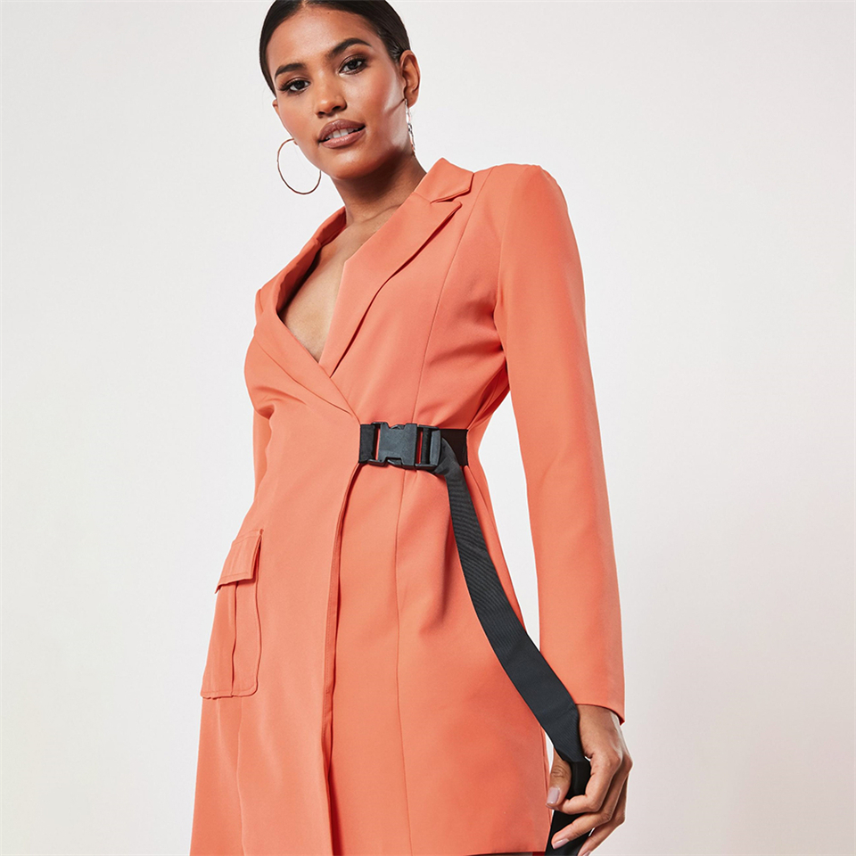orange-seatbelt-buckle-blazer-mini-dress (2)