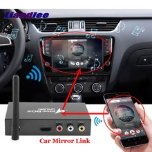 Car Mirror Link WiFi Airplay Display Dongle Box Smart Screen Mirroring Converter Universal For Android + iOS Mobile Phone car wifi display mirror box for android ios phone navigation link to car audio miracast dlna airplay smart screen lcd monitors