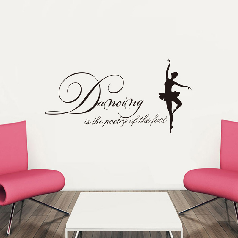Inspirational Quotes Wall Decals Home Decorations adesivo ...