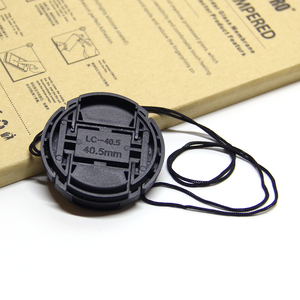 Image 4 - 30pcs/lot 40.5mm 49mm 55mm center pinch Snap on cap cover for Sony camera Lens