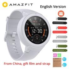 English Xiaomi Huami Amazfit Verge Lite GPS Smart Watch IP68 1.3 AMOLED Screen 20 Days Battery Life Verge Lite Wristwatch xiaomi amazfit smart watch english version bip huami gps smartwatch pace lite bluetooth 4 0 heart rate 45 days battery ip68