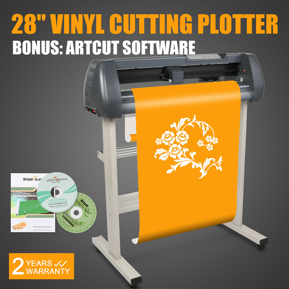Vevor New 28 Quot Vinyl Cutter Cutting Plotter Machine Artcut