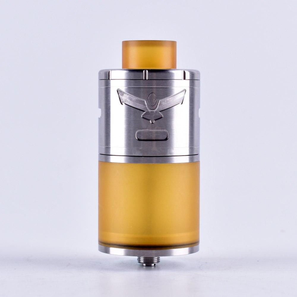 ShenRay VG Extrême 30mm Diamètre RTA Atomiseur Cigarette Électronique Pei Tube Goutte À Goutte Pointe Mech Réservoir fit Prédéfinis Bobine pour vaporisateur Mod