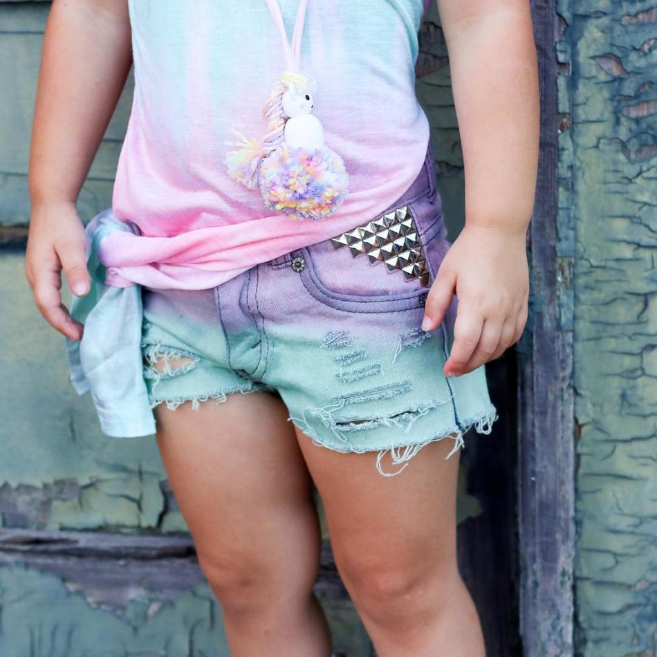 9288e26f50 2018 Urocza Dzieci Dziewczynek Podział Sukienka Dziewczynki Tęczy ...