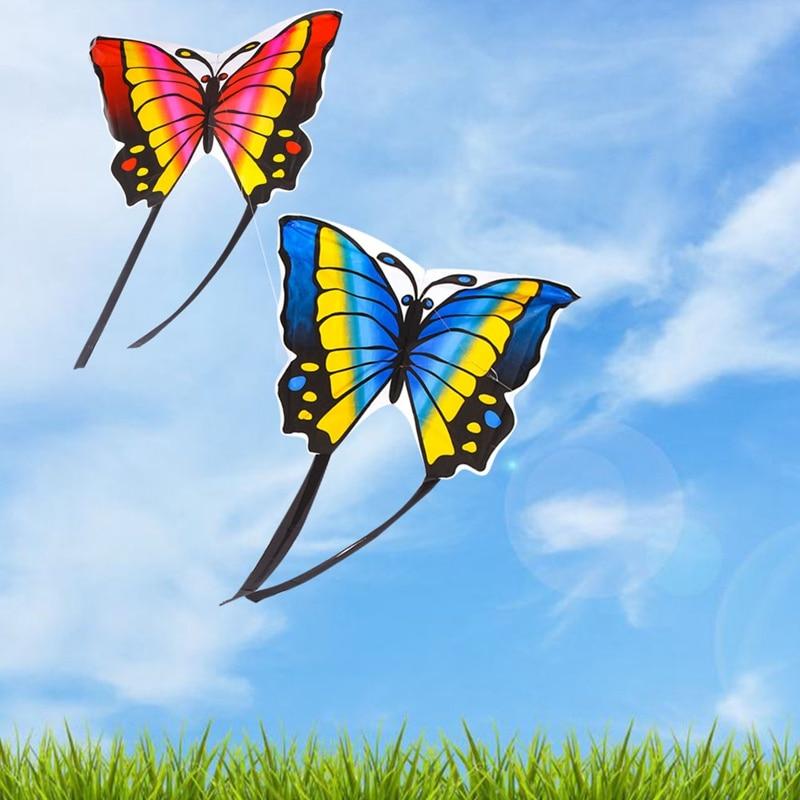 Children S Butterfly Kite Easy To Fly Single Line Kite