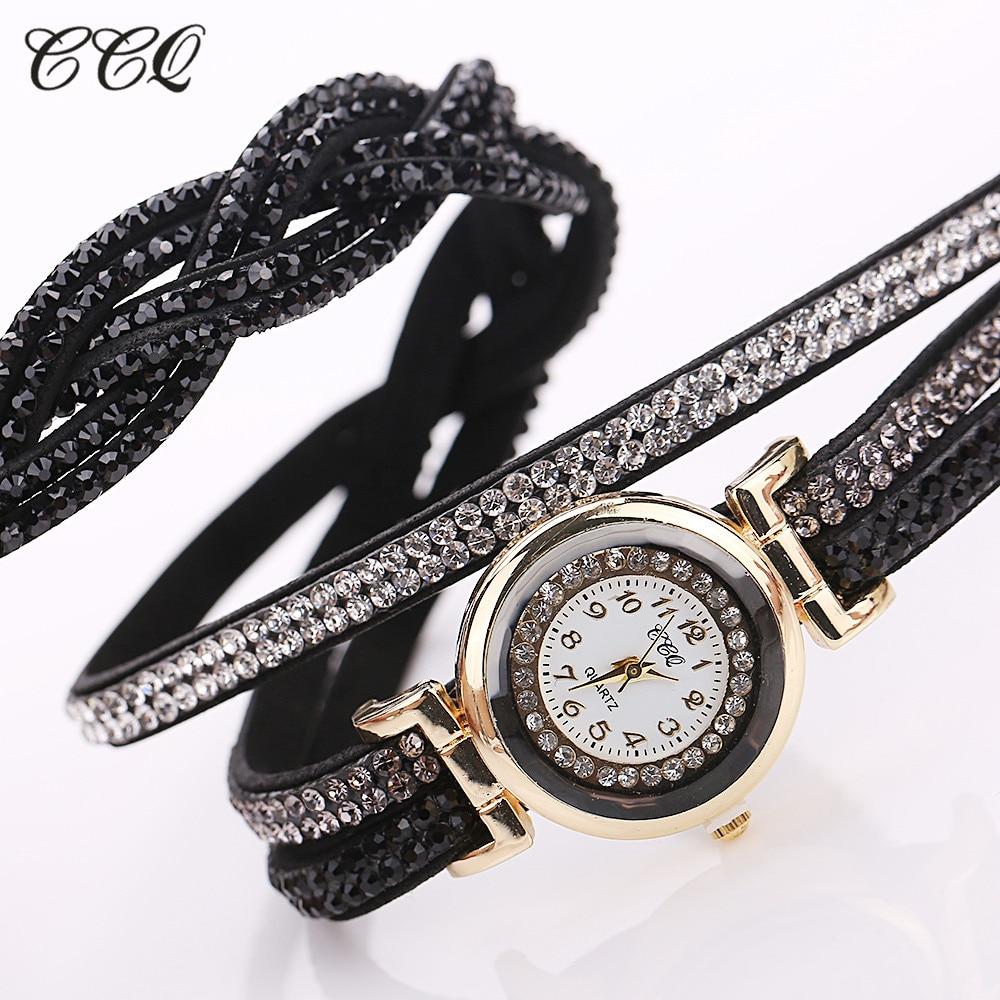 Fashion Casual Quartz Women - Watch Braided Leather Bracelet Watch Gift 5