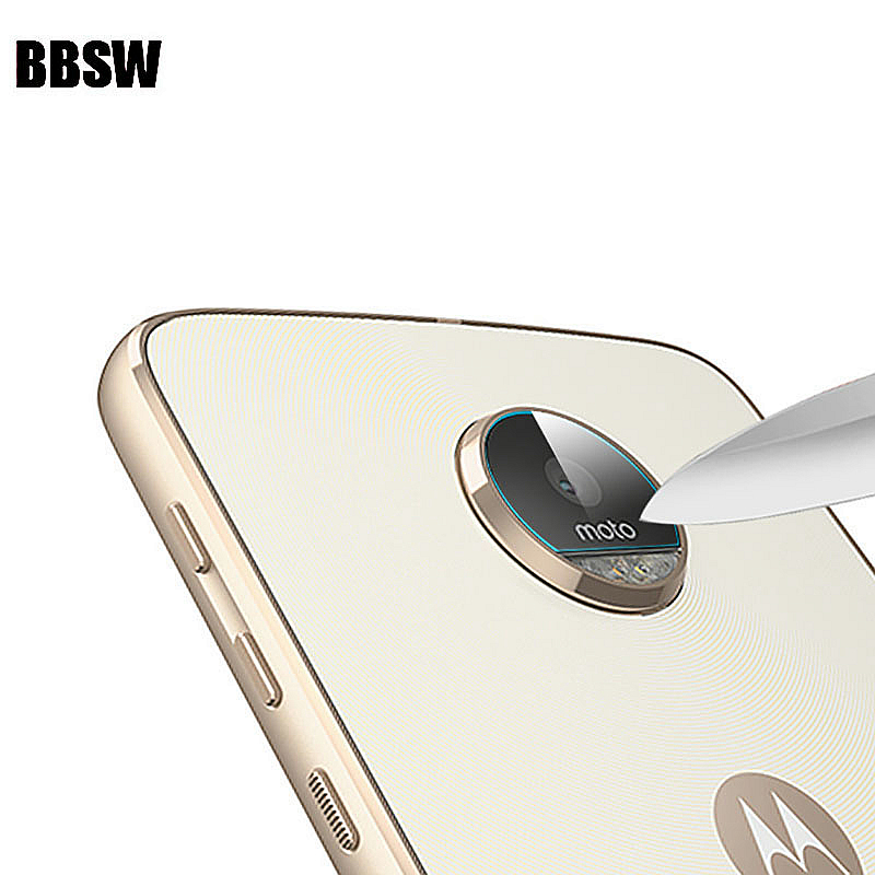 BBSW 1Pc/2Pcs Rear Camera Lens Clear Tempered Glass For Motorola Moto G6 G6+ G5 G5S G5 Plus Z Z2 Play M X4 Back Camera Lens Flim