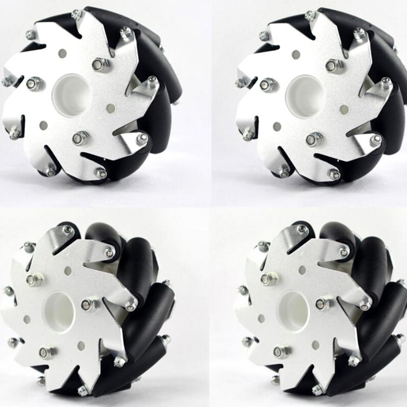 48 mm - 4 roues Mecanum Kit de roues Mecanum Wheel Kit 48 mm - 4 roues