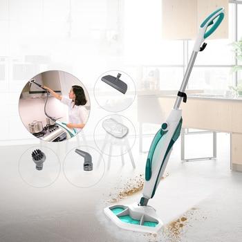 1400w Fast Steaming Steam Mop for Carpet Kitchen Bathroom Handheld Steamer Cleaner Cleaning Sterilization Floor Cleaning Machine