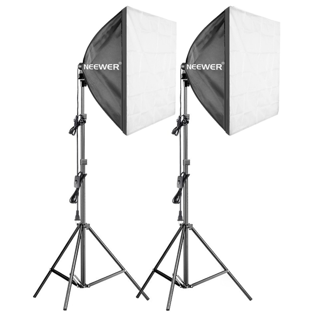 Pro Photography Lighting Kit - 3 Packs 24x24 inches 7