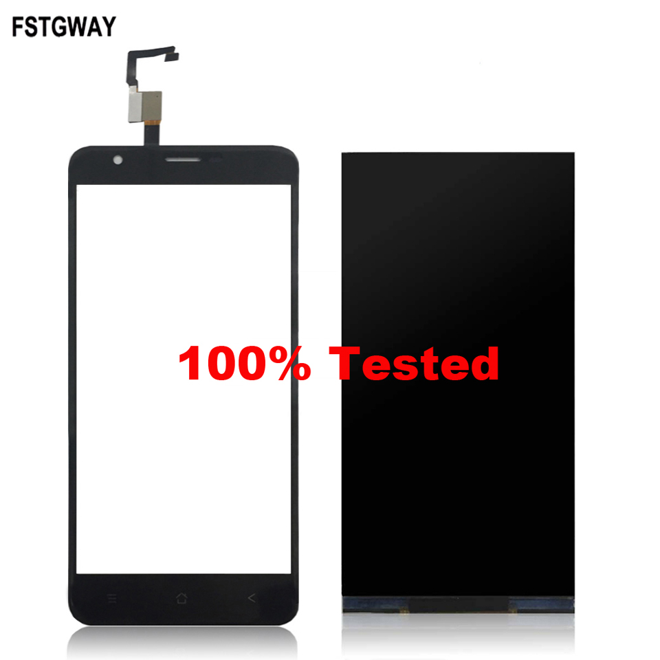 FSTGWAY For Blackview E7/E7S LCD Display+Touch Screen 100% Tested LCD+Digitizer Glass Panel Replacement