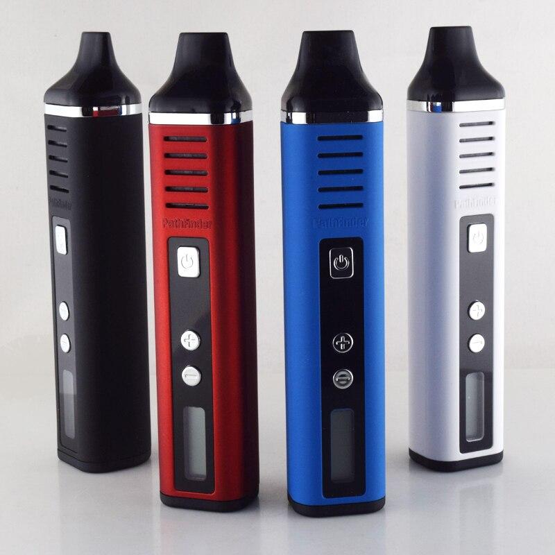 Nuevo Pathfinder V2 vape mods 2200 mAh e cigarrillos vaporizador hierba seca pluma Vape mod cigarrillo electrónico kit de