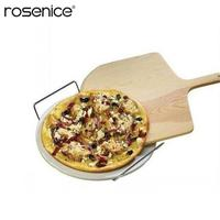 12/14 Inch Natural Wooden Pizza Spatula Paddle Pizza Peel Charcuterie Board for Baking Homemade Pizza and Bread