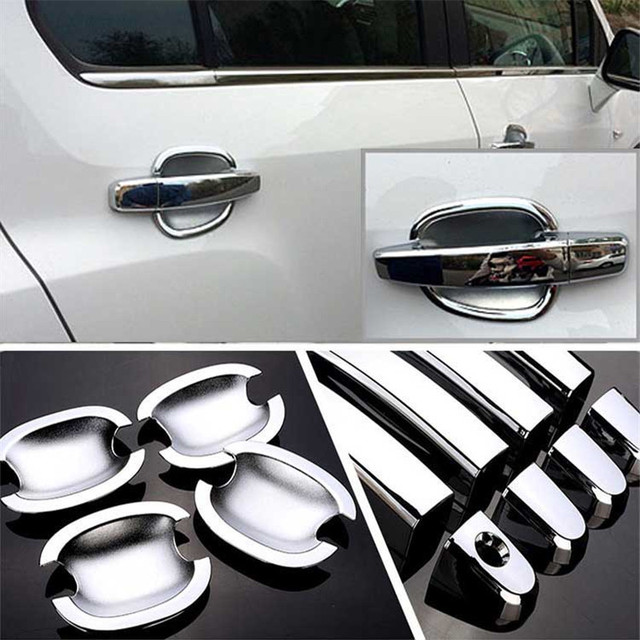 $ 28.19 Non-Rusty Chrome Door Handle Bowl Cover Cup Overlay Trim For Chevrolet Trax