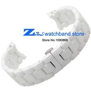 Image 3 - Keramische horlogeband 18mm 22mm horloge band voor armani AR1400 AR1403 AR1406 AR1401 AR1407 AR1409 AR1443 AR1410 AR1475 horloge band