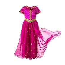 Pettigirl dziecięcy kostium na Halloween gorący różowy kombinezon dla dzieci fantazyjne Cosplay kostium księżniczki dziewczyna ubrania typu Cosplay dla dzieci dziewczyna